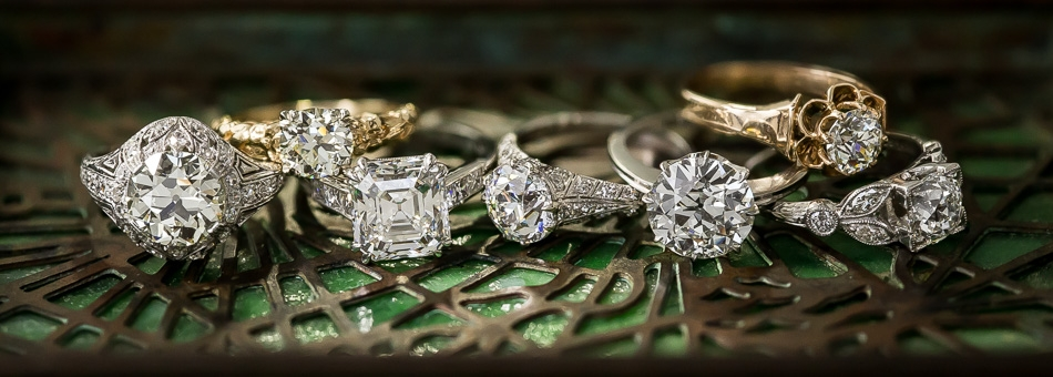 Vintage Diamond Engagement Rings