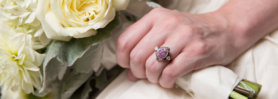 Vintage Gemstone Engagement Rings