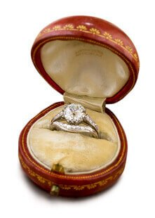 Lang Antique Estate Jewelry Engagement Rings Vintage