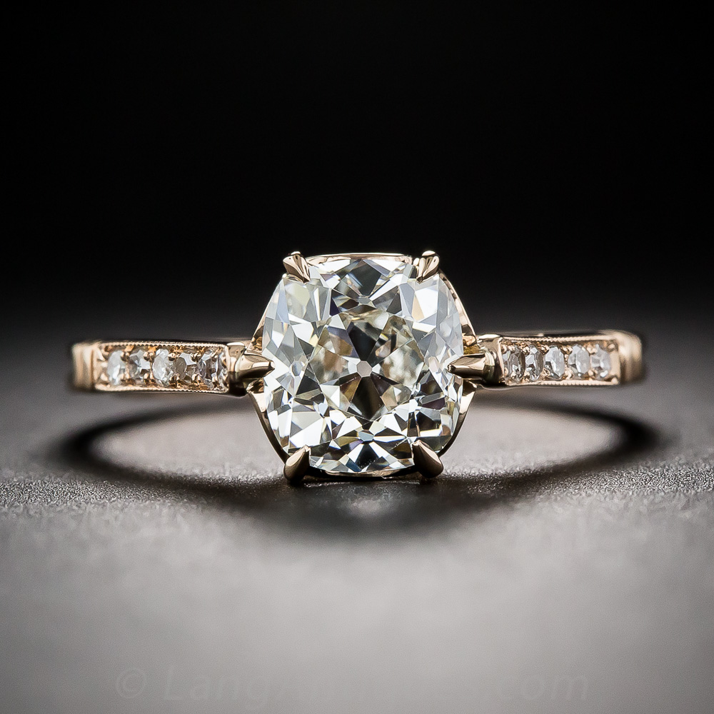 Antique Estate Sale Engagement Rings