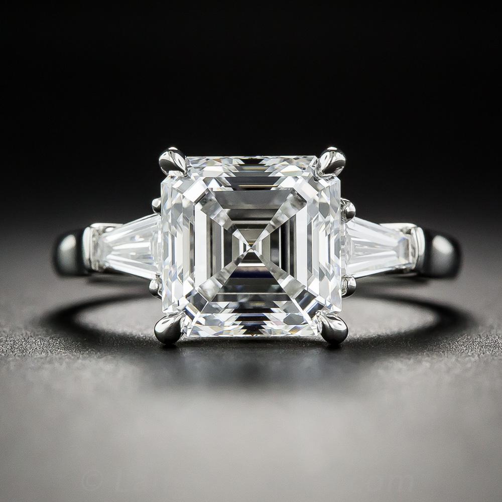 Princess Cut Diamond Rings Square
