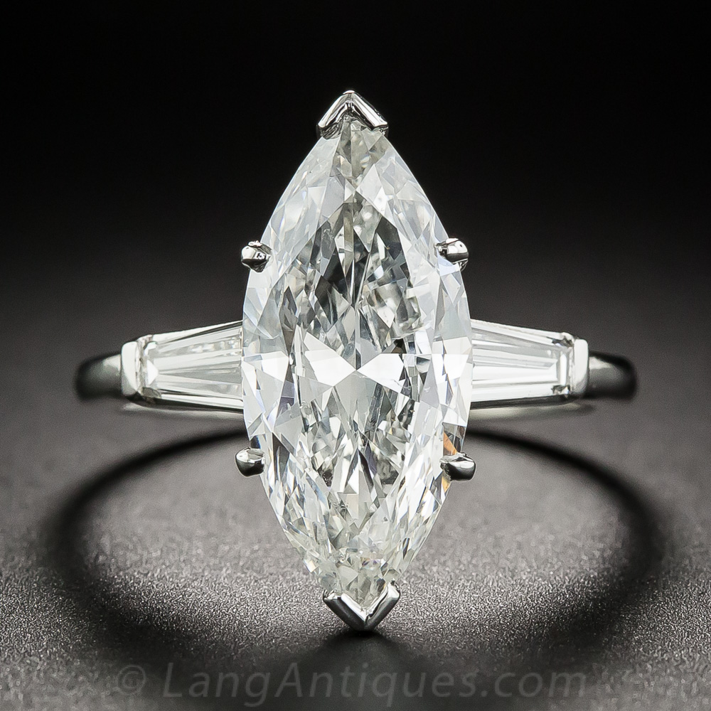 marquise wedding rings 3 71 carat marquise ring i si2 5722