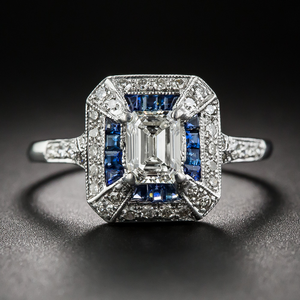 Antique Princess Cut Ring