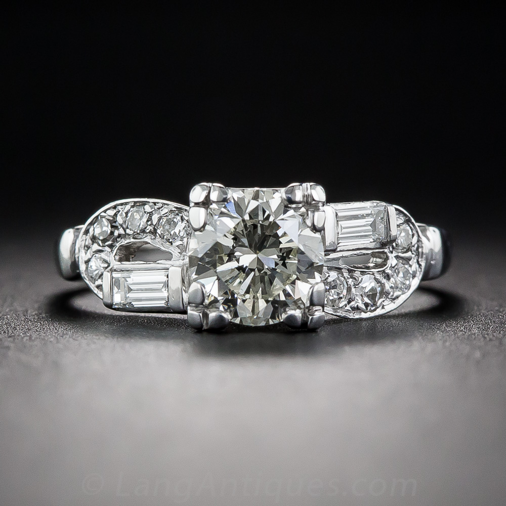 90 Carat Art Deco Engagement Ring Vintage Engagement Rings