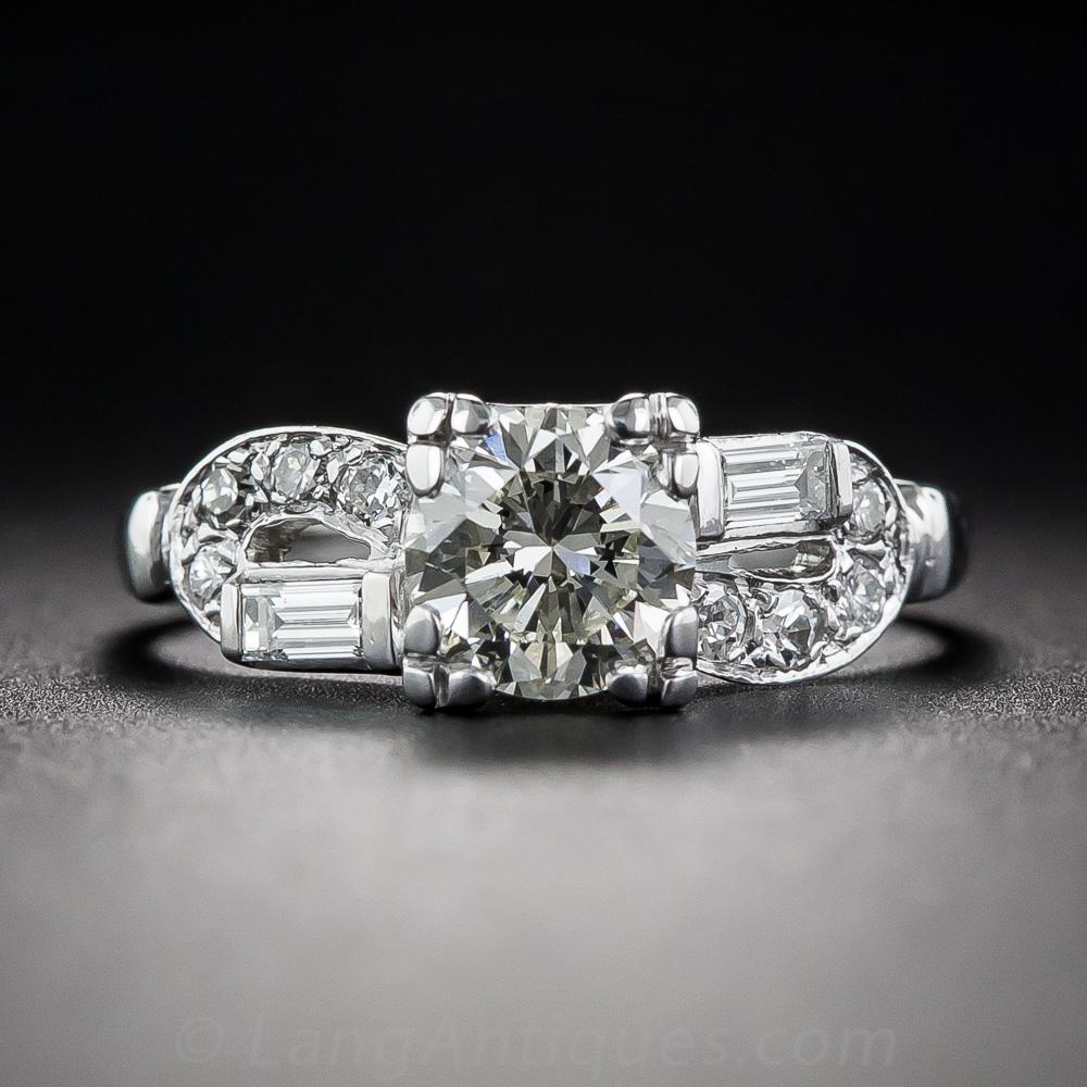 90 Carat Art Deco Engagement Ring Vintage Engagement Rings