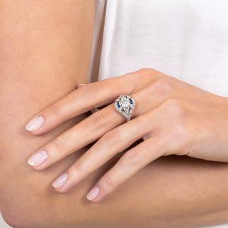 1.09 Carat Art Deco Diamond Ring