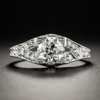 1.16 Carat Diamond Platinum Engagement Ring - GIA I VS1  - 1