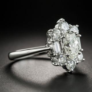 1.18 Carat Oval Diamond Ring - GIA K SI2