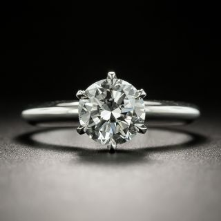 1.19 Carat D VVS2 Solitaire Diamond Ring - GIA - 2