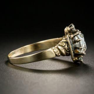 1.26 Carat Victorian Diamond Engagement Ring - GIA