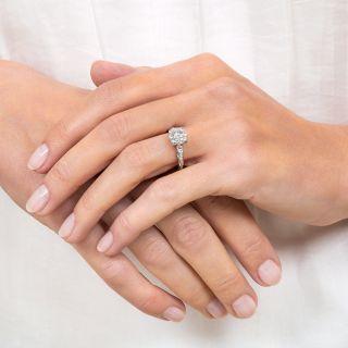 1.50 Carat Estate  Diamond Engagement Ring