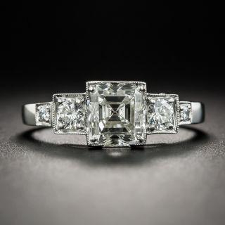 1.54 Carat Emerald Cut Diamond Ring - GIA J VS2 - 2