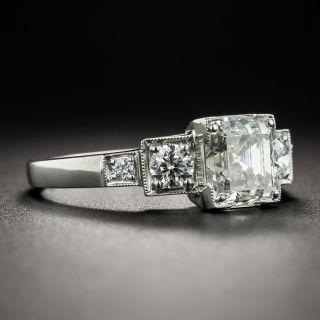 1.54 Carat Emerald Cut Diamond Ring - GIA J VS2