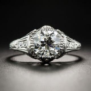 1.69 Carat Art Deco Diamond Ring -  GIA J VVS2 - 1