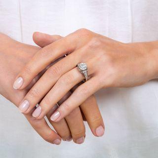 1.69 Carat Art Deco Diamond Ring -  GIA J VVS2
