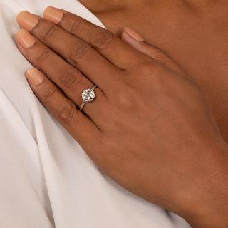 Lang Collection 1.23 Carat European-Cut Diamond Ring - GIA E VS2