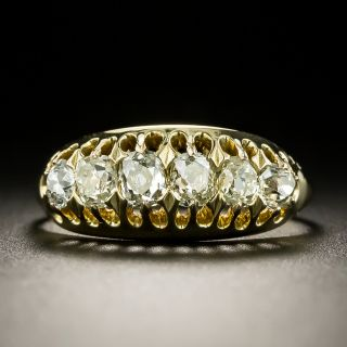 Victorian Six-Stone Diamond Ring - 1