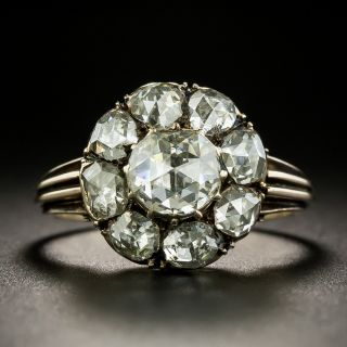 Victorian Rose-Cut Diamond Ring - 1