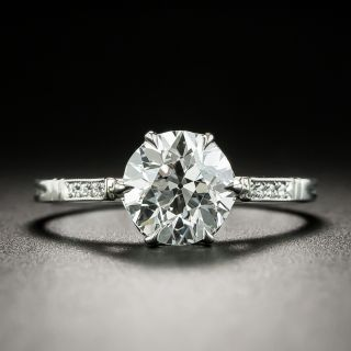 Lang Collection 1.54 Carat Diamond Ring - GIA E VS2 - 0