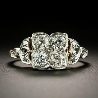 Vintage Four-Stone Diamond Ring - 2