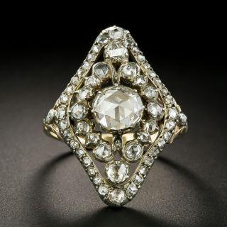 Dutch Georgian Style Rose-Cut Diamond Dinner Ring - 1
