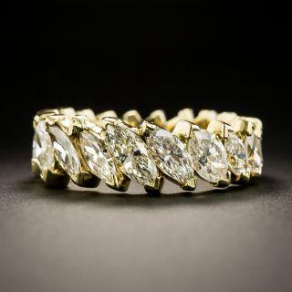 Estate Marquise Diamond Eternity Band - Size 8 1/4 - 2