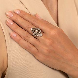 Dutch Georgian Style Rose-Cut Diamond Dinner Ring