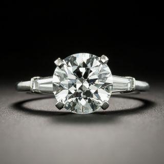 Classic 2.32 Carat Diamond Engagement Ring - GIA E VS1 - 1