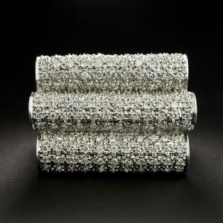 Large Pavé Diamond Ring - 1