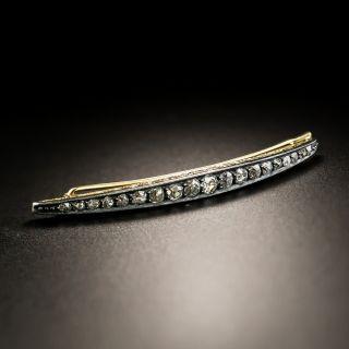 Victorian Diamond Barette - 7