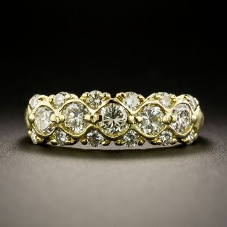 Estate Diamond Band Ring - 2