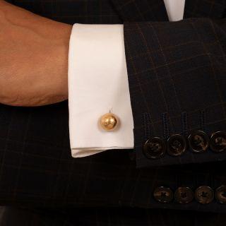 Cartier Dumbbell Cufflinks