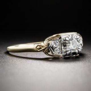 .18 Carat Mid-Century Diamond Engagement Ring