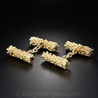 18 Karat Double-Sided Cufflinks