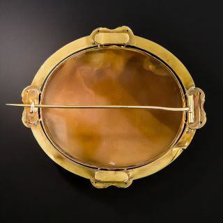 18K Victorian Mythological Shell Cameo