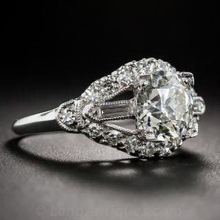 2.03 Carat Vintage Diamond Engagement Ring