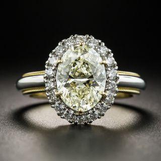 2.11 Carat Diamond Ring GIA U-V VS2 - 1