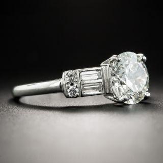 2.12 Carat Vintage Diamond Engagement Ring - GIA J VS2