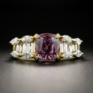 2.48 Carat Spinel and Diamond Ring - 1