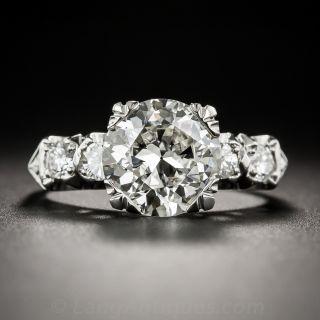 2.89 Carat Vintage Diamond Ring - GIA L SI1