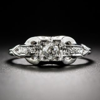 .22 Carat Diamond Art Deco Engagement Ring