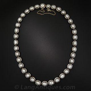 24 Carat Rose-Cut Diamond Necklace - Russian