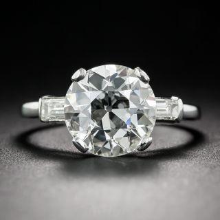 3.01 Carat Diamond Engagement Ring - GIA J/VS2