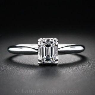.47 Carat Emerald-Cut Solitaire Diamond Ring