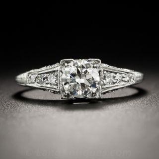 .56 Carat Diamond Art Deco Engagement Ring