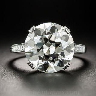 6.78 Carat European-Cut Diamond - GIA  L VS2  - 1