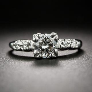 .65 Carat Mid-Century Diamond Engagement Ring