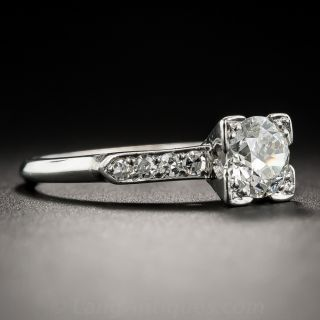 .80 Carat Solitaire Diamond Vintage Engagement Ring