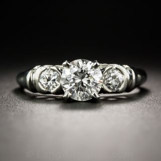 .82 Carat Diamond Vintage Engagement Ring