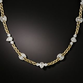 David Webb Fancy Diamond Chain - 2